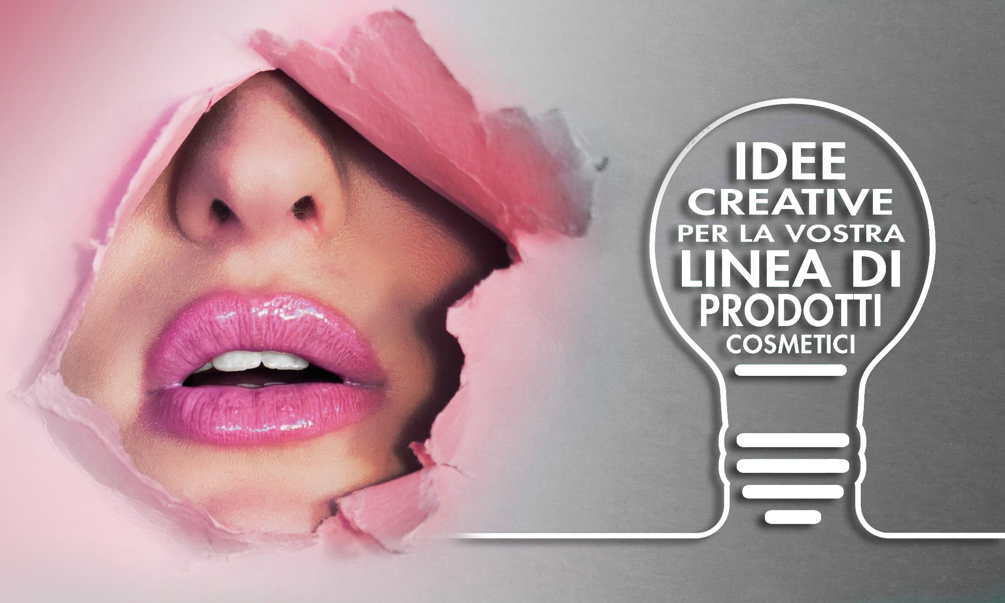 Cosmetics corporate identity